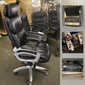 MaxSold Auction: This online auction features restaurant catering supplies, electronics such as desktop computer towers, networking gear, laptops, and computer servers, office supplies, books, manga, toys such as My Little Pony, Pokemon, and Mario, cleaning products, kitchen scales, industrial size fan and much more!