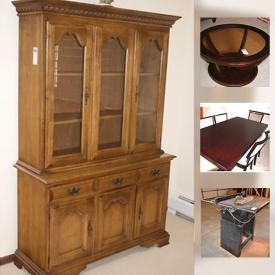 MaxSold Auction: This online auction features lamps, perfume, cabinets, vacuum, quilts, stuffed bears, grill, table saw, trekking poles, recliner and much more.