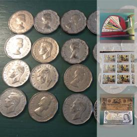 MaxSold Auction: This online auction features older Canadian coins, stamps, vintage anchor, vintage kitchen tools, collectible toys such as Smurfs, Trolls, Teenie Babies, Barbie, Cabbage Patch Dolls, Sesame Street, madame Alexander, scrapbooking items, collectible hockey cards and much more!