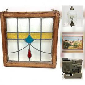 MaxSold Auction: This online auction features speakers, wall art, projector, books, sports rack, picture frames, china, costume jewelry, kids bicycles, paper shredder, poker chips, yard tools and much more.