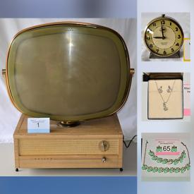 MaxSold Auction: This online auction features VINTAGE: 1950's Philco Predicta TV; Mad magazines; coffee table books; costume jewelry. COLLECTIBLE: Coca Cola; Harry Potter first edition paperbacks and much more!