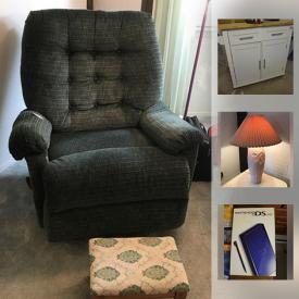MaxSold Auction: This online auction features items such as Thomas Kinkade art works, John Wayne memorabilia, a Vizio television and sound bar, a Nintendo DS Lite, Frontgate pool flats and much more!