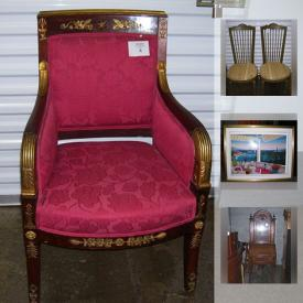 MaxSold Auction: This online auction features a gun safe, wall art, area rugs and much more!