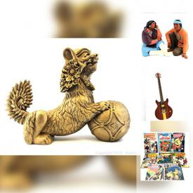 MaxSold Auction: This online auction features Antique Gingerbread Clock, Vintage Zenith Radio, Vintage Marble Panther Figurine, comics, Vintage Fine Art Sculpture and much more!
