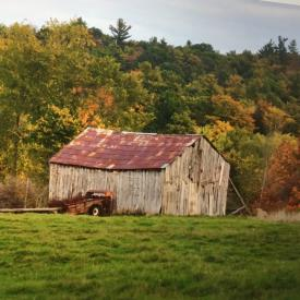 MaxSold Auction: This online auction features Small fallen barn approximately 20x40 feet. Barn boards, beams and roof tin.