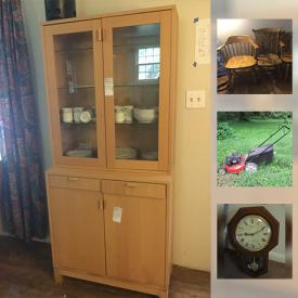 MaxSold Auction: This online auction features fireplace tools, lamps, vinyl records, heaters, golf clubs, tents, holiday decor, board games, books, luggage, stuffed animals, pool, lawn mower, bicycles and much more.