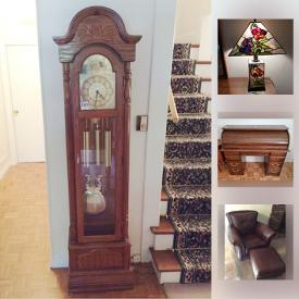 MaxSold Auction: This online auction features jewelry, mirrors, lamps, grandfather clock, books, speakers, stereo system, power tools, holiday decor, grill, outdoor furniture, pool supplies, collectibles, record albums and much more.