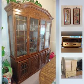 MaxSold Auction: This online auction features Vintage Asian Wall Art Panels, Eternal Springtime Pattern China Set, Cuisinart food processor, Karaoke Machine, Surround Sound System, barbeque grills and much more!