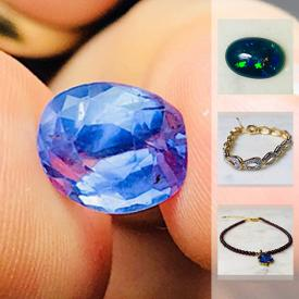 MaxSold Auction: This online auction features precious and semi-precious gemstones such as rubies, blue topaz, lemon quartz, garnets, aquamarines, different colors sapphires, opals and more! As well as fossils and .925 and gemstone rings, bracelets and much more.