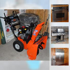 MaxSold Auction: This online auction features doors, pot lights, Track Lighting, Fridge, Kitchen Cabinet, Broil king BBQ, Jungle gym Playground, windows, patio furniture and much more!