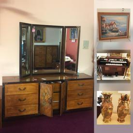 MaxSold Auction: This online auction features garden tools, recliner, Schwinn bicycle, memory foam back support, Ewave chest freezer, tv, electronics, furniture, new Big Boss fryer, art, urns, organ, rattan chair, decor and much more!
