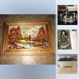 MaxSold Auction: This online auction features antique chairs, antique copper fire extinguisher, rare The Maze Labyrinth board game, tea ceremony tray, silver plated teapot set christmas decor, windows, percussion bongo box, dishware and much more!