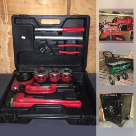 MaxSold Auction: This online auction features NEW OLD STOCK HARDWARE STORE goods such as paint, hardware, tools, wiring, duct work, antique safe, tap and die sets, key cutters, driveway sealer, Forza hand pump and much more!