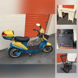 MaxSold Auction: This online auction features several kids bikes, Majestic gas fireplace stove, needlepoint chair, Polk subwoofer, mini frig, Wii and games, DVDs, LPs, child's bow, Callaway golf bags and much more!
