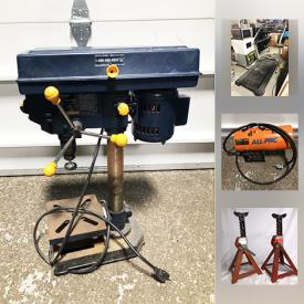MaxSold Auction: This online auction features Wolfgang Puck pie and pastry makers, Little Tykes walker, Weslo treadmill, commercial towel dispenser, drill press, axle stands, propane heater, ladies boots, pocket knives and much more!