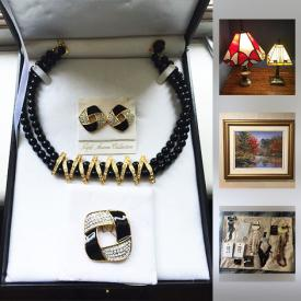 MaxSold Auction: This online auction features items such as new jewelry, Swarovski necklaces and earrings, a Nintendo NES with 17 games, vintage Barbies with clothing, vintage Playboy magazines, and more!