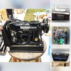 MaxSold Auction: This online auction features vending machines, board games, dolls, TV, scooters, power and hand tools, outdoor furniture, wall art, ladders, shop vac, air compressor, table saw, pressure washer, snow thrower, metal cabinets, weed trimmers, grill, coolers and much more!