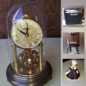 MaxSold Auction: This online auction features vintage furniture, decor, baby movement monitor, DVDs, spray gun, holiday decoration, collectibles, kitchen appliances and much more.