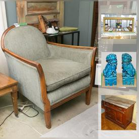 MaxSold Auction: This online auction features a 40 inch Samsung TV, a rotary phone, cast iron decor, artwork, bedroom furniture, a portable writing desk, cross pens, Sony Stereo system, lamps and much more!