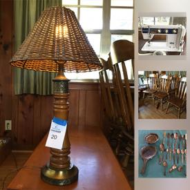 MaxSold Auction: This online auction features items such as a vintage sewing machine and vintage furniture, vintage Barbie, silver plate utensils and much more!