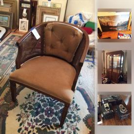 MaxSold Auction: This online auction features Lighted China Cabinet, Massaroni Lithograph, Cameras, American Flags, Boat Motor, GMC Cordless Brad Nailer, LPs, Cast Iron Pot, Martin Tobias Limited Edition Etching, Office Chair, Wood Dresser, Huffy 10 Speed Men's Bike, Ladies FS Elite Cruiser Bike and much more!