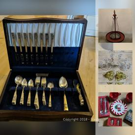 MaxSold Auction: This online auction features Christmas Decor, Craftsman Style Display Cabinet, Dyson Heater, Cookbooks, Flatware, Wine Glasses and much more.
