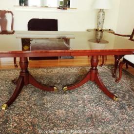 MaxSold Auction: If you're looking for high quality furniture, look no further. This Billerica moving online auction features some prominent names in the furniture industry such as, Kindel, Henredon and Hancock and Moore.