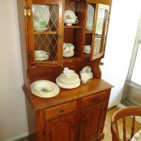 MaxSold Auction: This auction features Silver Plate Cutlery, China Cabinet, Wedgwood China, Table And Chairs, Rocker Recliner Chair, Mirrors, Sofa Bed, Print, Cabinets, Crystals, Books, Dresser, Lamps, Single Beds, Golf Clubs, Dresser With Mirror and more!