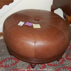 MaxSold Auction: This auction features art, leather ottoman, samsung TV, Four poster bed, love seat, patio set, garden lots, plants, golf clubs, desk, mirror, desk, elliptical, drafting table, hoover carpet cleaner, and much more!