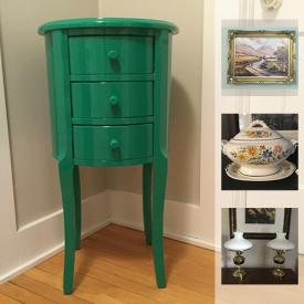MaxSold Auction: This online auction features furniture, rug, decor, artwork, china and much more!
