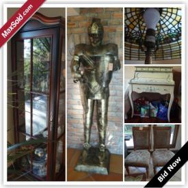 MaxSold Auction: Category D ONLY  Saturday, October 24 EDT, 12:30 PM - 01:00 PM At a different location which is about 15 minutes away. 
