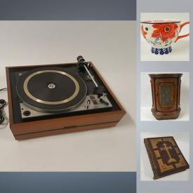 MaxSold Auction: This online auction features Antique Family Bible, Antique Ice Tongs, United Audio Turntable, Star Wars - Toy and Two Lunch boxes, Coca Cola Tray, Wade Figurines and much more!