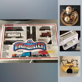 MaxSold Auction: This online auction features collectibles, crystals, vintage items, magazines, toys, Singer Sewing Machine,Silver plated set and much more.