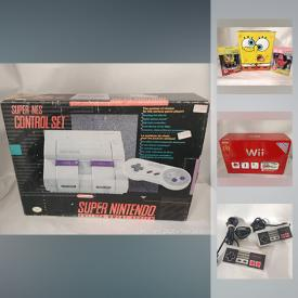 MaxSold Auction: This online auction features collectibles such as sealed sports trading cards, Funko pops, Adventure Time, Pokemon, Disney, and Zelda, electronics such as Beats by Dr. Dre, SNES bundle, NES bundle, 25th Anniversary Wii with accessories, PS3 bundle, and N64 games, glassware, bar ware, new slow cooker, framed paintings, vintage maps and much more!