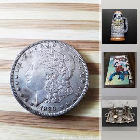 MaxSold Auction: This online auction features Individual and Sets of Circulated and Uncirculated Coins, Paper Money, Japanese Occupation Money, Sterling Silver Jewelry, Vintage Native American Porcelain Dolls, Comics, Vintage Fishing Equipment, Folding Knives, Gemstones and much more!