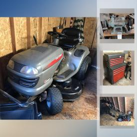 MaxSold Auction: This online auction features musical instruments, craftsman tool chest, tools, air compressor, butcher block, Yamaha stereo and more!