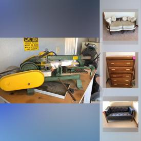 MaxSold Auction: This online auction features Jack And Leaf Collector, Leather Chair And Ottoman, Leather Sofa, Pioneer Surround Sound System, Pacific States fire hydrant and much more!