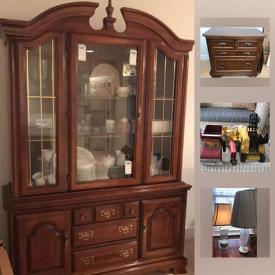 MaxSold Auction: This online auction features Desk With Hutch, Sony Flat Screen Television, Vintage Christmas Ornaments, Gold Necklace, Office Chair, Vintage Tonka Toys and much more!