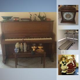 MaxSold Auction: This online auction features Metal Detector, Collector Plates, Original Paintings, Longaberger Baskets, Judges Chair, Guitar, Lladro Figure, Gino Hollander Original Art, Telescope, Clarinet, Banjos, Wizard of OZ Collectibles, Vintage Avon vanity jars, Atari System, Legos, Super Nintendo, WII Game Set and much more!