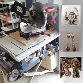 MaxSold Auction: This online auction features Diamond Engagement Ring, Claude Hulce Pottery, Vintage Books, Sterling Silver Cameo Set, Vintage Hubcaps, PAM Signed Pottery, Vintage Pyrex, Avon collectibles, Vintage John Haymson Print, US Proof Sets, Yard Art and much more!