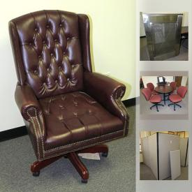 MaxSold Auction: This online auction features Office Partitions, Dell Monitors, Desktop Computers without Hard Drives, Office Table & Chairs, Mobile Heaters, HP Laserjet Printers, Office Desks, Dell Servers, Server Bays, Office Computer Desks and much more!