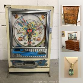 MaxSold Auction: This online auction features furniture, artworks, jewelry, collectible coins, Canadian Stamps and cards, Roomba Vacuum Robot 2.1, vintage and antique items, tools, hardware, decors and much more.