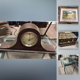 MaxSold Auction: This online auction features sterling silver items, hundreds of DVDs such as action, horror, and comedy, electronics such as Playstation 2 games, Xbox games, and stereo speakers, furniture such as glass coffee table and antique trunk, glassware, wall art and much more!