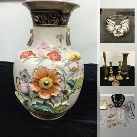 MaxSold Auction: This online auction features Art Glass, Fur Hat & Coat, Precious Moments Figurines, Royal Albert Tea Set, Teacups, Silver Jewelry, Vintage Royal Albert Dinnerware, Mats Jonasson Crystal Sculpture, Sterling Silver Souvenir Spoons, Freezer, Vintage Asian Trunk, Guitar, Leather Jacket and much more!