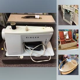 MaxSold Auction: This online auction features Fashion Jewelry, Bee Boxes, Singer Sewing Machine, Glass Stone Rings, Ultra Suede Throw Cushions, Hand Knit Children's Sweater, and Much More!!
