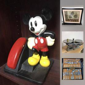 MaxSold Auction: This online auction features Framed Prints, Computer Monitors, Coins, Costume Jewelry, Tools, Collectible Porcelain Dolls, Records, Scientific Instruments, Tools, Toys & Games and much more!
