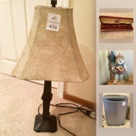 MaxSold Auction: This online auction features decors, collectibles, household items, kitchenware, clothing, George Foreman Grill, garage items, Gardening supplies and much more.