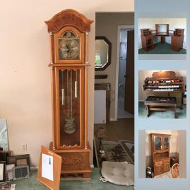 MaxSold Auction: This online auction features furniture, decor, collectibles, kitchen items, electronics, appliances, garage tools, outdoor items and much more.