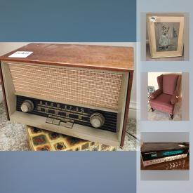 MaxSold Auction: This online auction features artworks, furniture, electronics, Fire Grate, decors, collectibles, kitchenware, appliances. glassware, Coin Supplies, Food Processor, Pewter, Handbags, Exercise equipment, Office Items, Workshop Supplies, Car Supplies, Painting Supplies and much more.