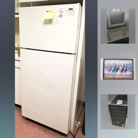 MaxSold Auction: This online auction features artworks, furniture, electronics, xerox machine, refrigerator, HP laserjet, office supplies, Christmas decor, meridian business phone systems, printer, coffee maker, tools, houseplants and much more.